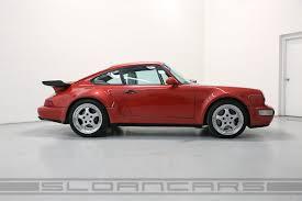 porsche 964 ducktail 1991 porsche 964 turbo coral red 50 174 miles sloan cars