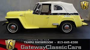 1949 willys jeepster 902 tpa 1948 willys jeepster youtube