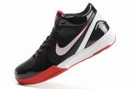 black friday basketball shoes basketball shoes white nike zoom kobe iv shoes black white red