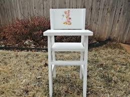 Wooden High Chair For Sale Ana White Fancy Baby Doll Crib And High Chair Diy Projects