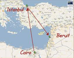 beirut on map beirut map travel map travelquaz com