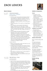 Resume Samples For Designers by Industrial Designer Resume Samples Visualcv Resume Samples Database