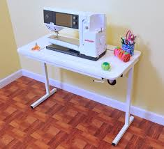 how to make a drop in sewing table choosing the best sewing cabinet for your space the seasoned homemaker