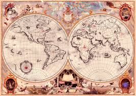 Stone Age World Map by Wizarding World Harry Potter Wiki Fandom Powered By Wikia