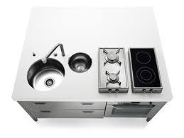 160 compact kitchen by alpes inox u2013 moco loco