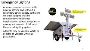 Solar Powered Runway Lights by Airfield Ground Lighting Agl