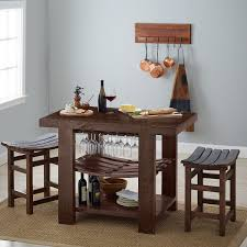 Kitchen Island Stools by Napa Valley Kitchen Island And Stool Set Caramel Finish Wine