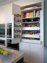 Modern Kitchen Pantry Designs - pantry cabinet shallow pantry cabinet with new home interior