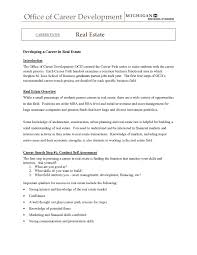 mortgage broker cover letter sample cover letters real estate