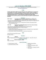 Nursing Template Resume Example Of Nurse Resume Resume Examples And Free Resume
