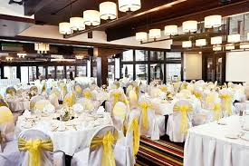 Wedding Halls In Michigan Sunny Spring Wedding In The Atrium Ballroom At Weber U0027s Inn The