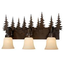 Bronze Bathroom Vanity Lights by Rustic Vanity Lighting U0026 Cabin Bathroom Lights
