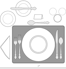 How To Set Silverware On Table How To Set Your Holiday Table Dummies