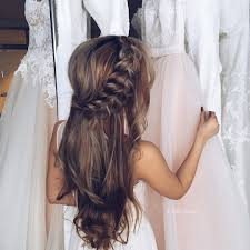 unique hairstyles unique hairstyles half updo and fishtail