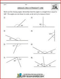 math worksheets for fifth graders angles in a triangle 2