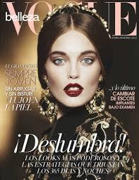 ... courtesy of stylist Dania Lucero Ortiz. / Beauty editor – Ana Hughes. emily didonato1 Emily DiDonato is Glam in Black for Vogue Latin Americas A/W 2012 - emily-didonato1