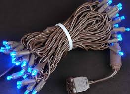 Brown Wire Christmas Lights Christmas Lights Blue Led Fia Uimp Com
