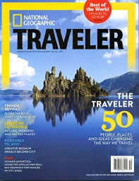 traveler magazine images Susan seubert on national geographic traveler 39 s cover for october jpg