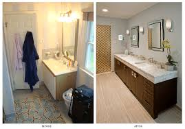 Decorating Before And After by Bathroom Before And After Bathroom Renovations Home Design
