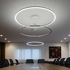Pendant Lights For Living Room with Lightinthebox Pendant Light Modern Design Living Led Ring Home