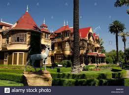 usa san jose california winchester mystery house mansion villa