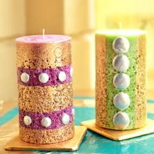 candle centerpieces candle decoration handmade candle decoration ideas