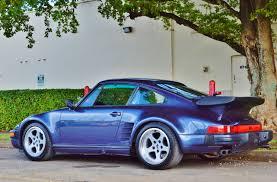porsche 930 turbo blue 1986 porsche 930 turbo ruf btr spec real muscle exotic