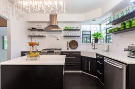 kitchen style contemporary white kitchen backsplash chandelier