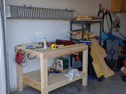 ana white garage workbench diy projects garage workbench