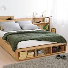 double bed frame with storage frame decorations