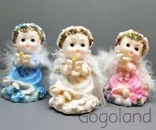 baptism figurines 12 pc recuerdos de bautizo baptism figurines angel white boy cake