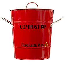 Compost Containers For Kitchen by Goodearthwares Kitchen Compost Bin Cute Stainless Steel Waste