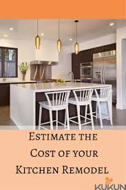 Kitchen Remodel Schedule Template by Best 25 Kitchen Renovation Cost Ideas On Pinterest Kitchen