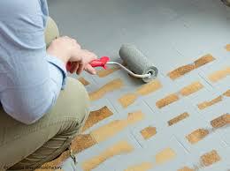 peinture carrelage sol cuisine peindre carrelage sans l ombre d une fausse note décoration