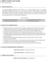 Fashion Retail Resume Examples by Top Retail Resume Templates U0026 Samples