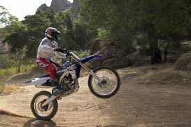on road motocross bikes yamaha off road bikes wr250f and yz250fx chew up some dirt la times