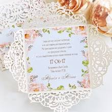 Customized Wedding Invitations Compare Prices On Custom Wedding Invitation Online Shopping Buy