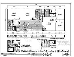 Floor Plans Of Homes Richland Elite Modulars Gfm903a Find A Home Commodore Of