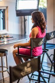 shany studio director chair makeup artists chair black ebay