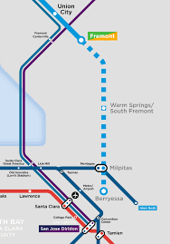 Bart Stations Map by My Favorite Regional Transit Maps