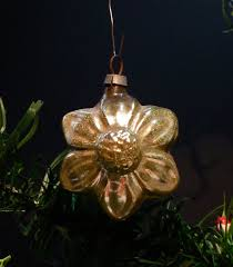 Glass Christmas Tree Ornament - la pouyette