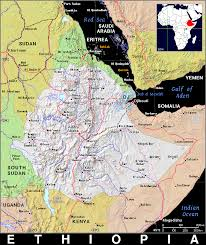 Map Of Ethiopia Et Ethiopia Public Domain Maps By Pat The Free Open Source