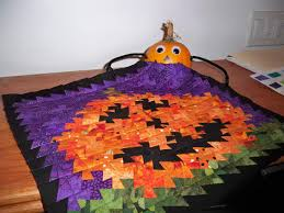 Halloween Quilt Fabric by Etsy Gorram Quilts