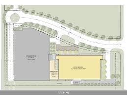 Building Site Plan Ten Story West Belt Office
