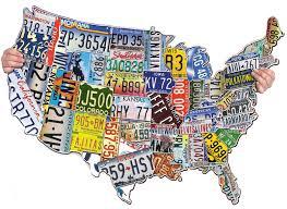 map usa jigsaw license plates usa jigsaw puzzle puzzlewarehouse
