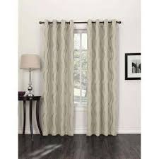 Contemporary Blackout Curtains Modern Curtains U0026 Drapes Window Treatments The Home Depot