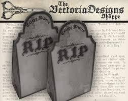 halloween tombstone etsy
