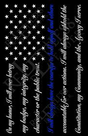 Subdued American Flag With Thin Blue Line Thin Blue Line Flag Wallpaper On Wallpaperget Com