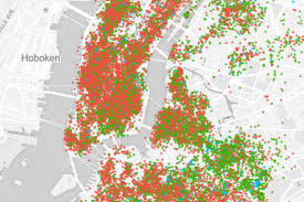 New York Maps by Use This Map To Explore Airbnb U0027s Takeover Of New York City The Verge