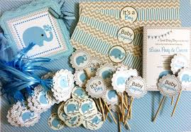 blue elephant water bottle labels for baby boy adore by nat